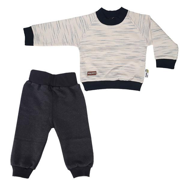 ست تی شرت آستین بلند و شلوار نوزاد پولونیکس کد 31903