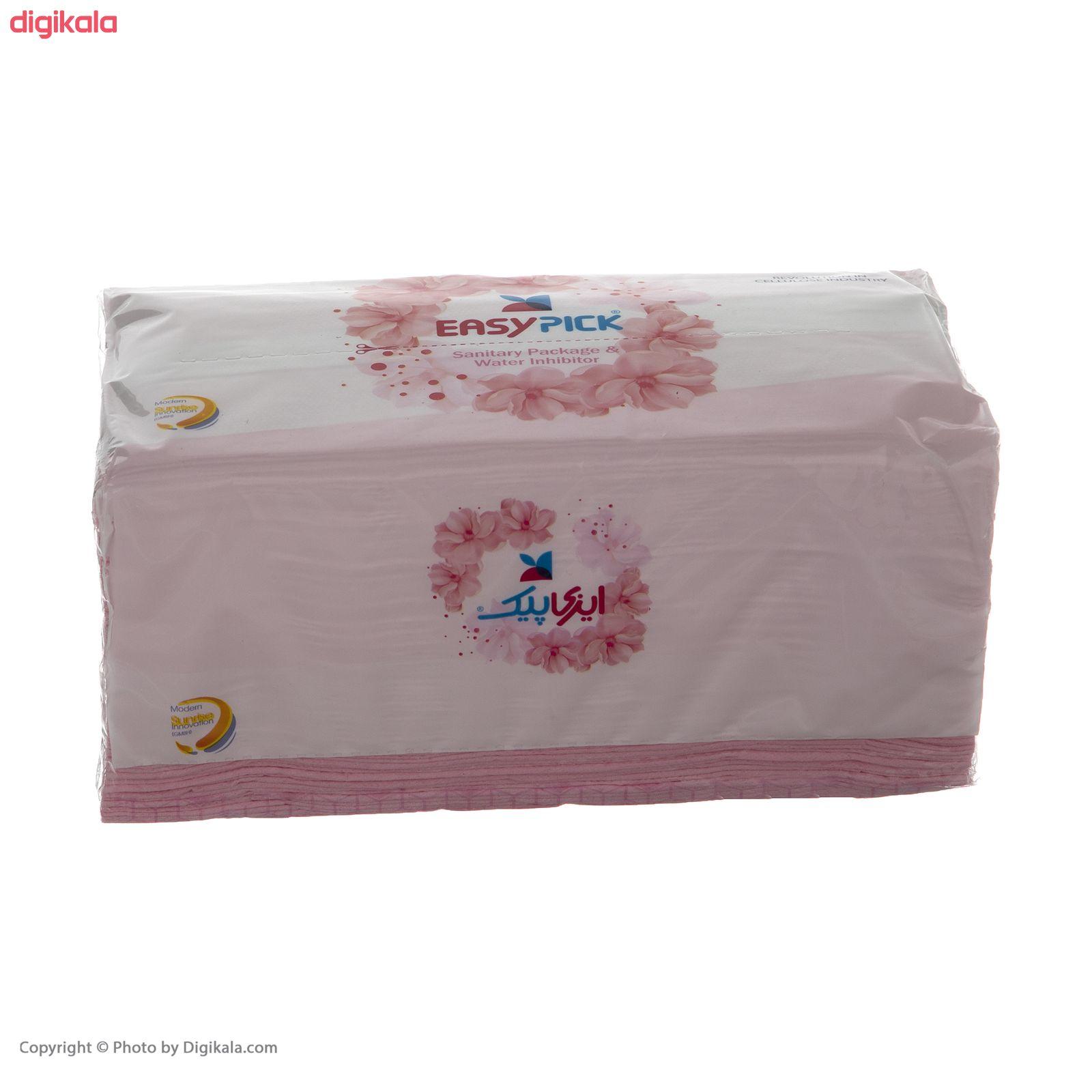 دستمال کاغذی 150 برگ ایزی پیک مدل Luxury بسته 8 عددی main 1 2