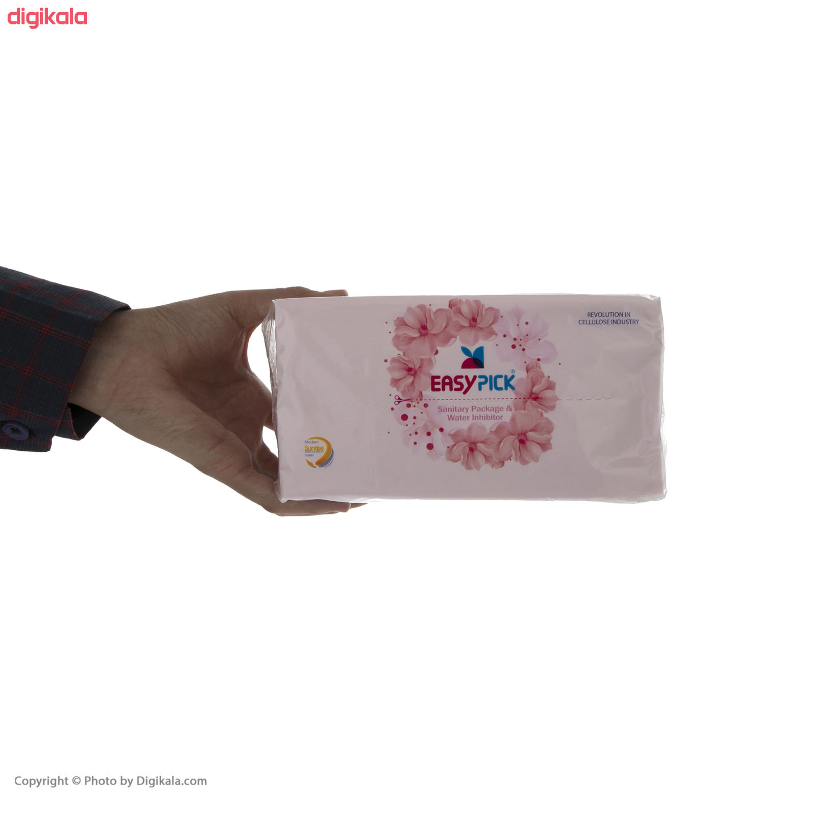 دستمال کاغذی 150 برگ ایزی پیک مدل Luxury بسته 8 عددی main 1 6