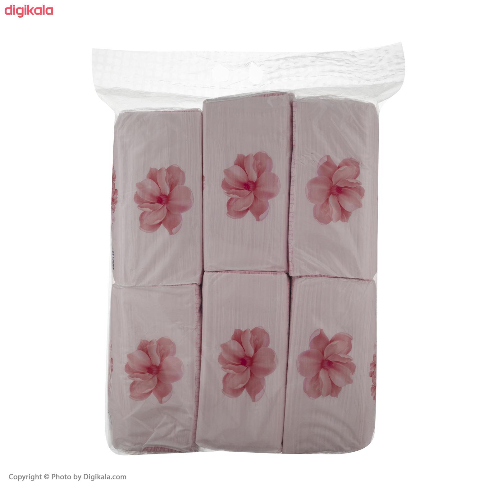 دستمال کاغذی 150 برگ ایزی پیک مدل Luxury بسته 6 عددی main 1 1