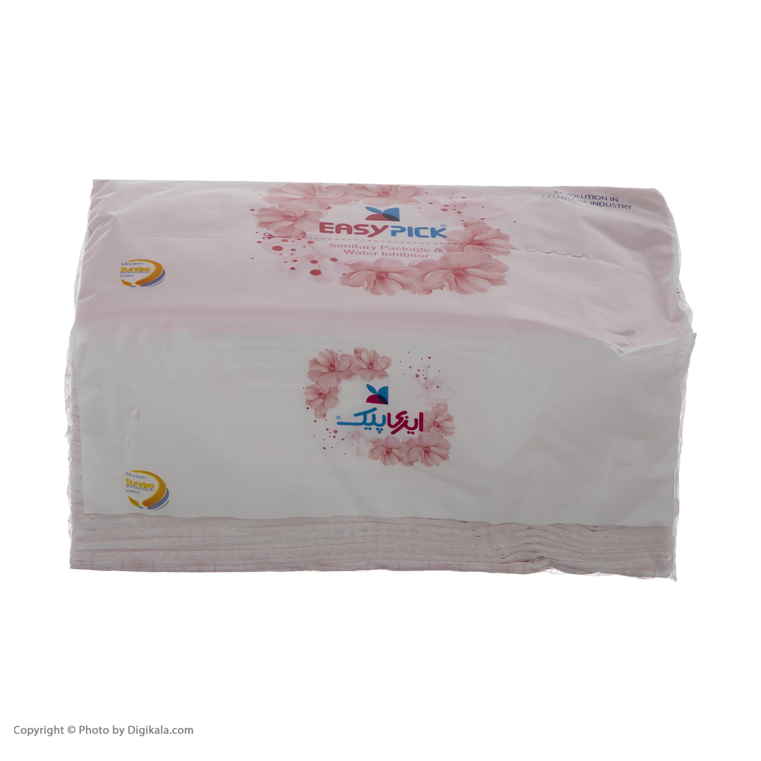 دستمال کاغذی 150 برگ ایزی پیک مدل Luxury بسته 6 عددی main 1 2