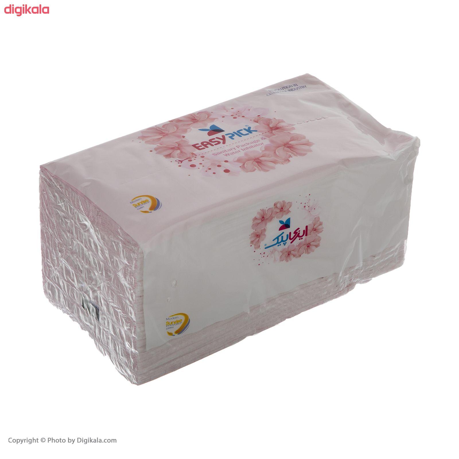 دستمال کاغذی 150 برگ ایزی پیک مدل Luxury بسته 6 عددی main 1 3