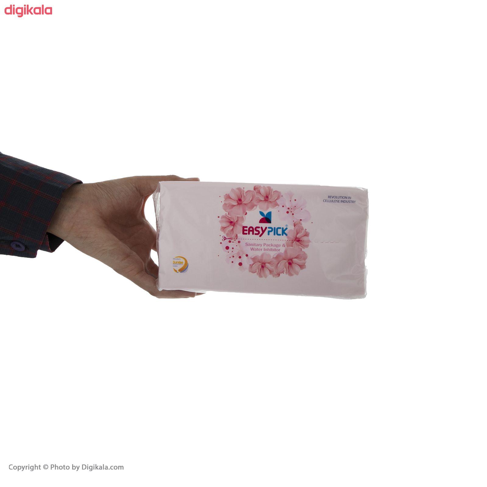 دستمال کاغذی 150 برگ ایزی پیک مدل Luxury بسته 6 عددی main 1 6