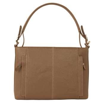 کیف دوشی زنانه پارینه چرم مدل V202-8