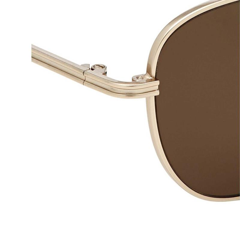 عینک آفتابی زنانه کومونو سری Chloe White Gold مدل KOM-S3752