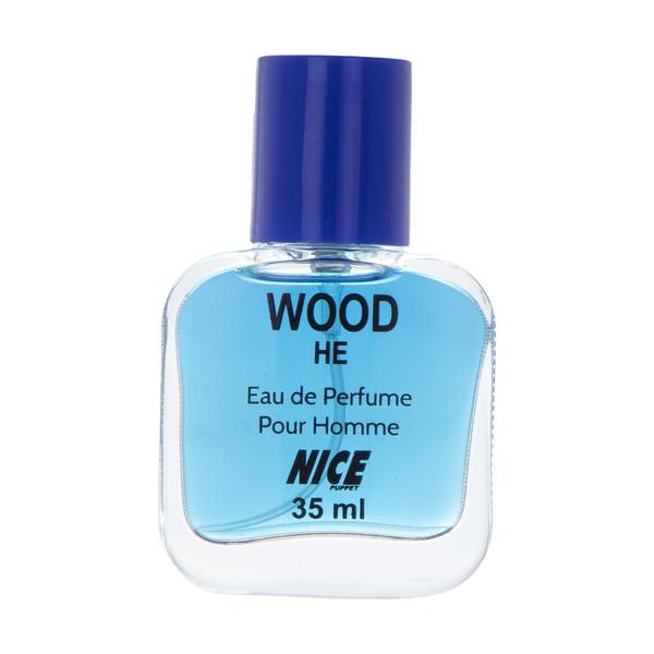 عطر جیبی مردانه نایس مدل Wood He حجم 35 میلی لیتر