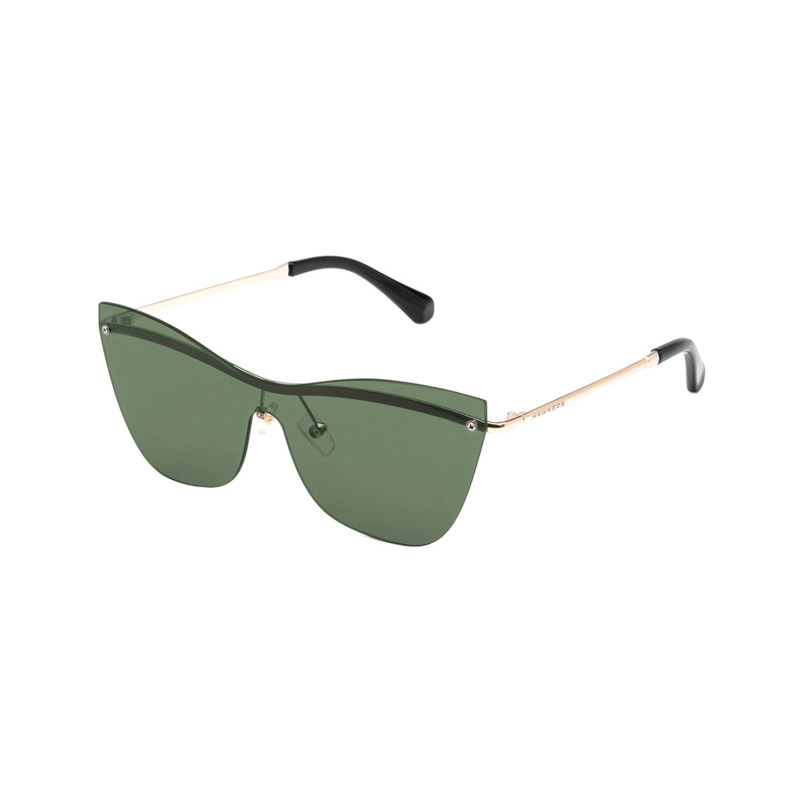 عینک آفتابی زنانه هاوکرز سری Gold Green Bottle Collins مدل H03FHM0636