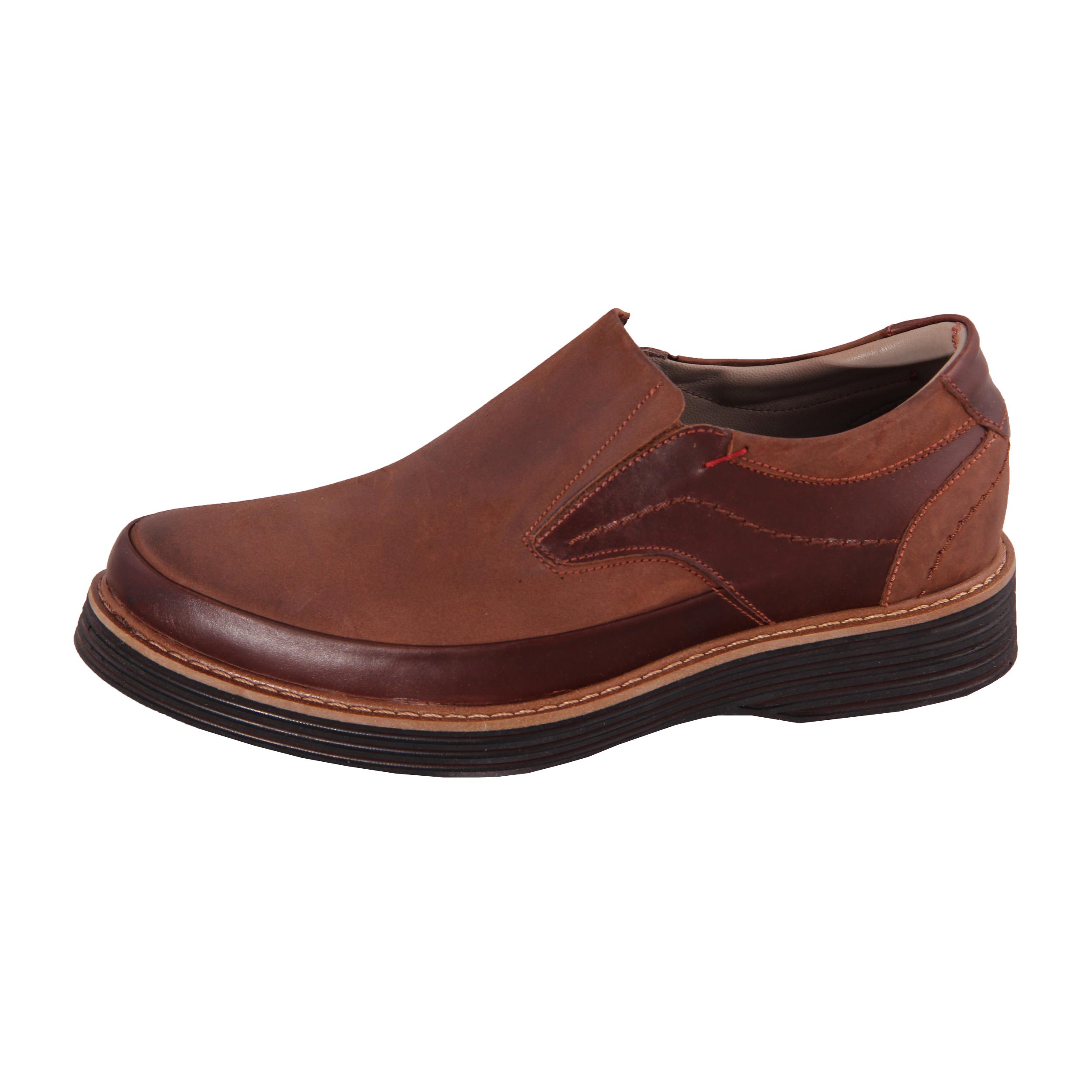کفش روزمره مردانه شهر چرم مدل HO536-3