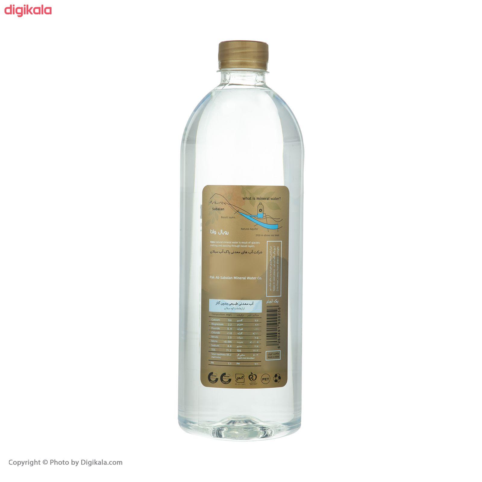 آب معدنی رویال واتا حجم 1000 میلی لیتر بسته 6 عددی main 1 4