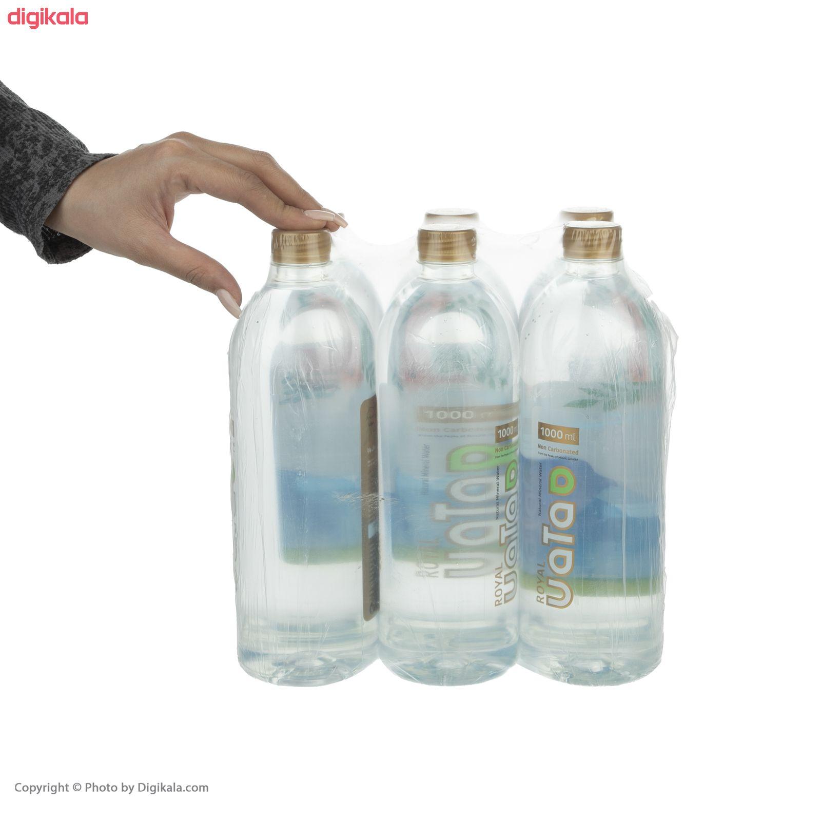 آب معدنی رویال واتا حجم 1000 میلی لیتر بسته 6 عددی main 1 6