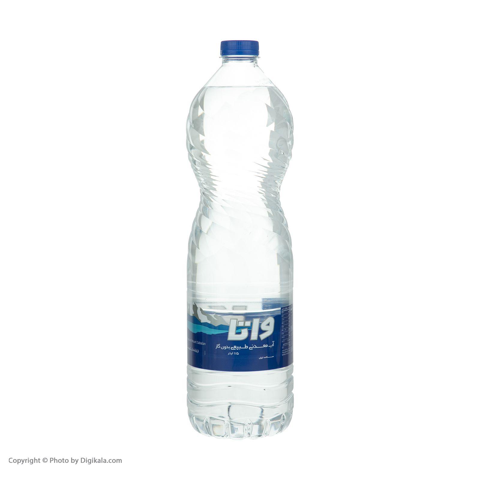 آب معدنی واتا حجم 1500 میلی لیتر بسته 6 عددی main 1 9
