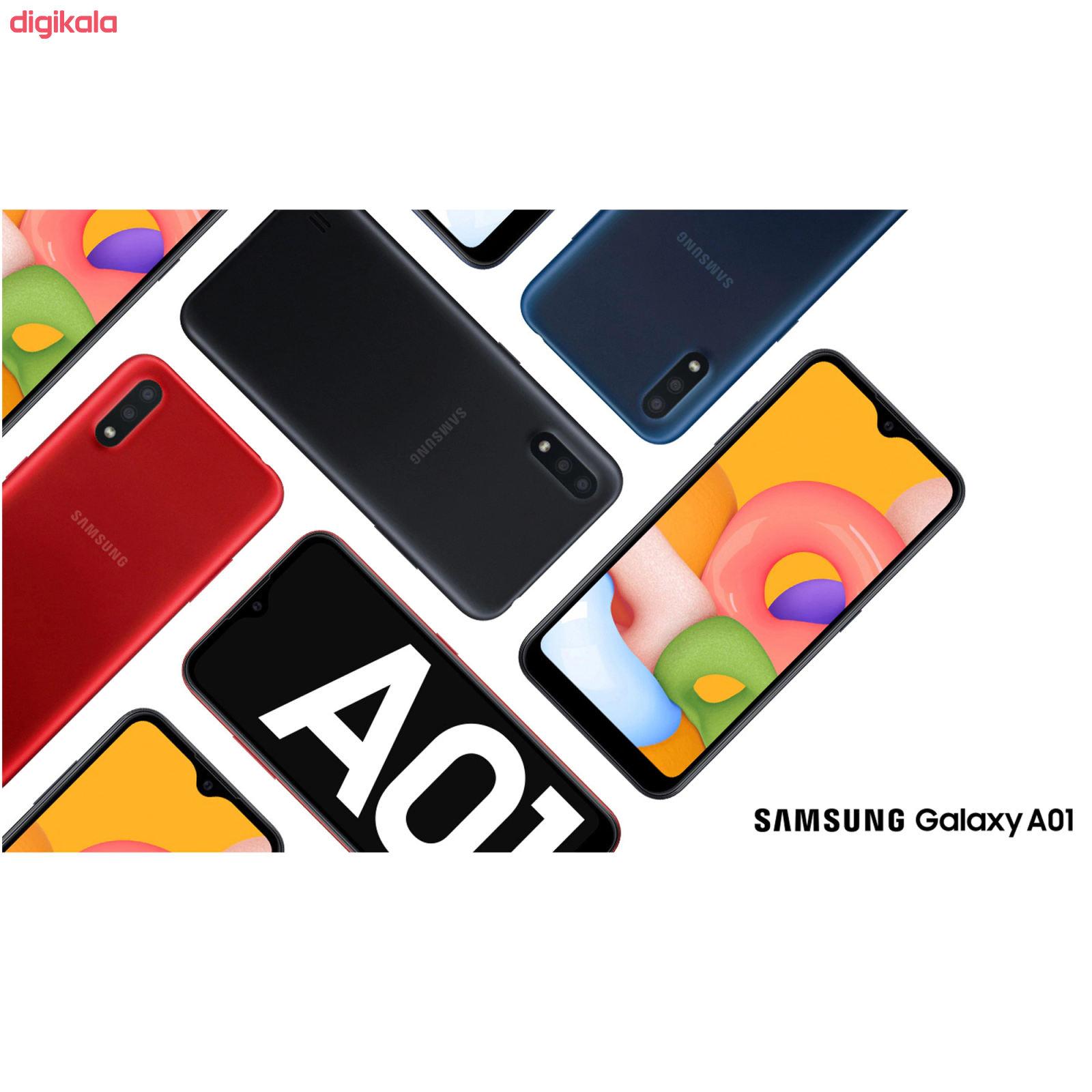 گوشی موبایل سامسونگ مدل Galaxy A01 SM-A015F/DS دو سیم کارت ظرفیت 16 گیگابایت main 1 4