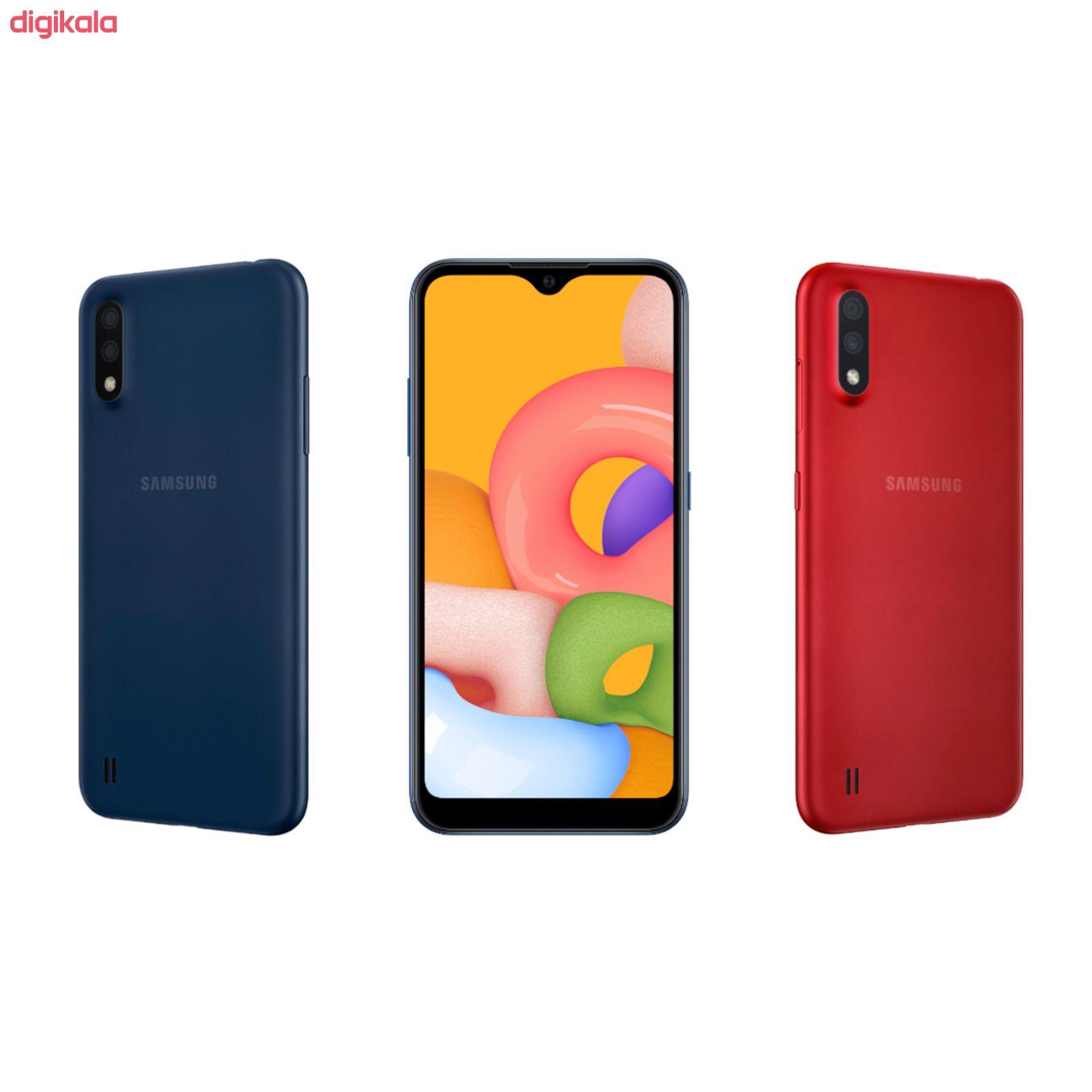 گوشی موبایل سامسونگ مدل Galaxy A01 SM-A015F/DS دو سیم کارت ظرفیت 16 گیگابایت main 1 7