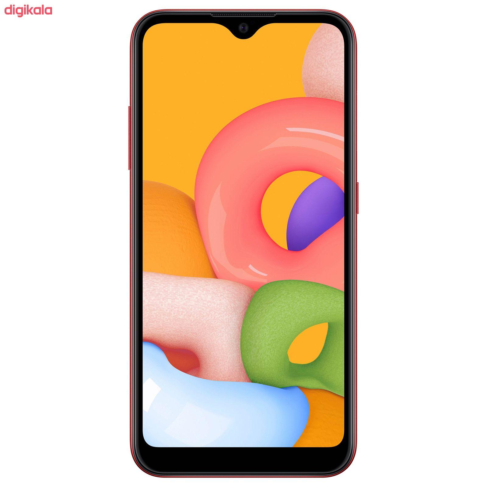 گوشی موبایل سامسونگ مدل Galaxy A01 SM-A015F/DS دو سیم کارت ظرفیت 16 گیگابایت main 1 15