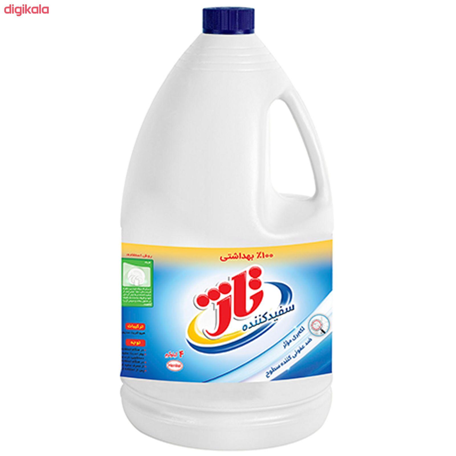 مایع سفید کننده تاژ مقدار 4000 گرم main 1 2