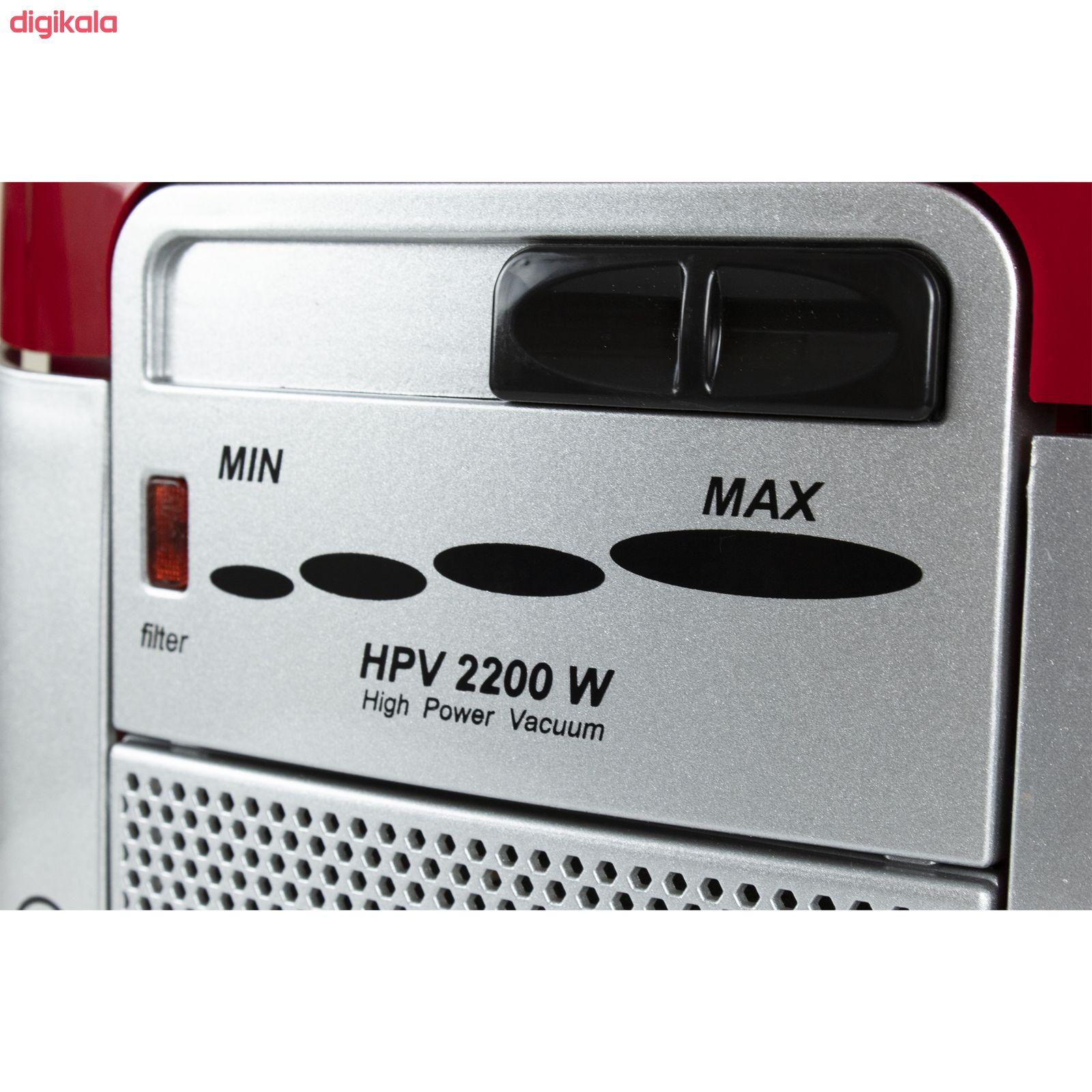 جاروبرقی خزر مدل HPV 2200W main 1 3