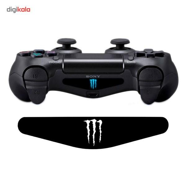 خرید اینترنتی برچسب دوال شاک 4 ونسونی طرح Monster Logo اورجینال