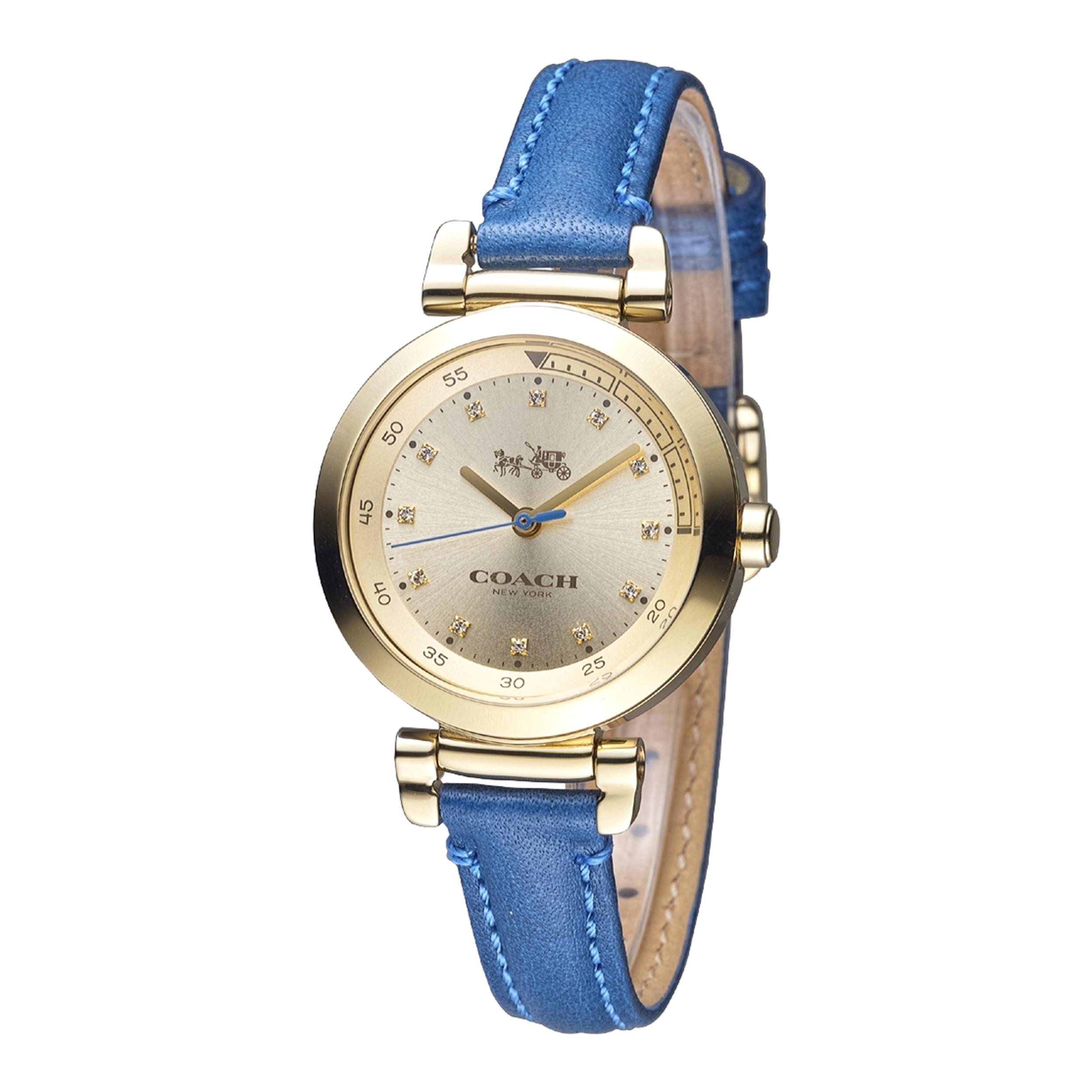 ساعت مچی عقربه ای زنانه کوچ مدل 14502538              ارزان