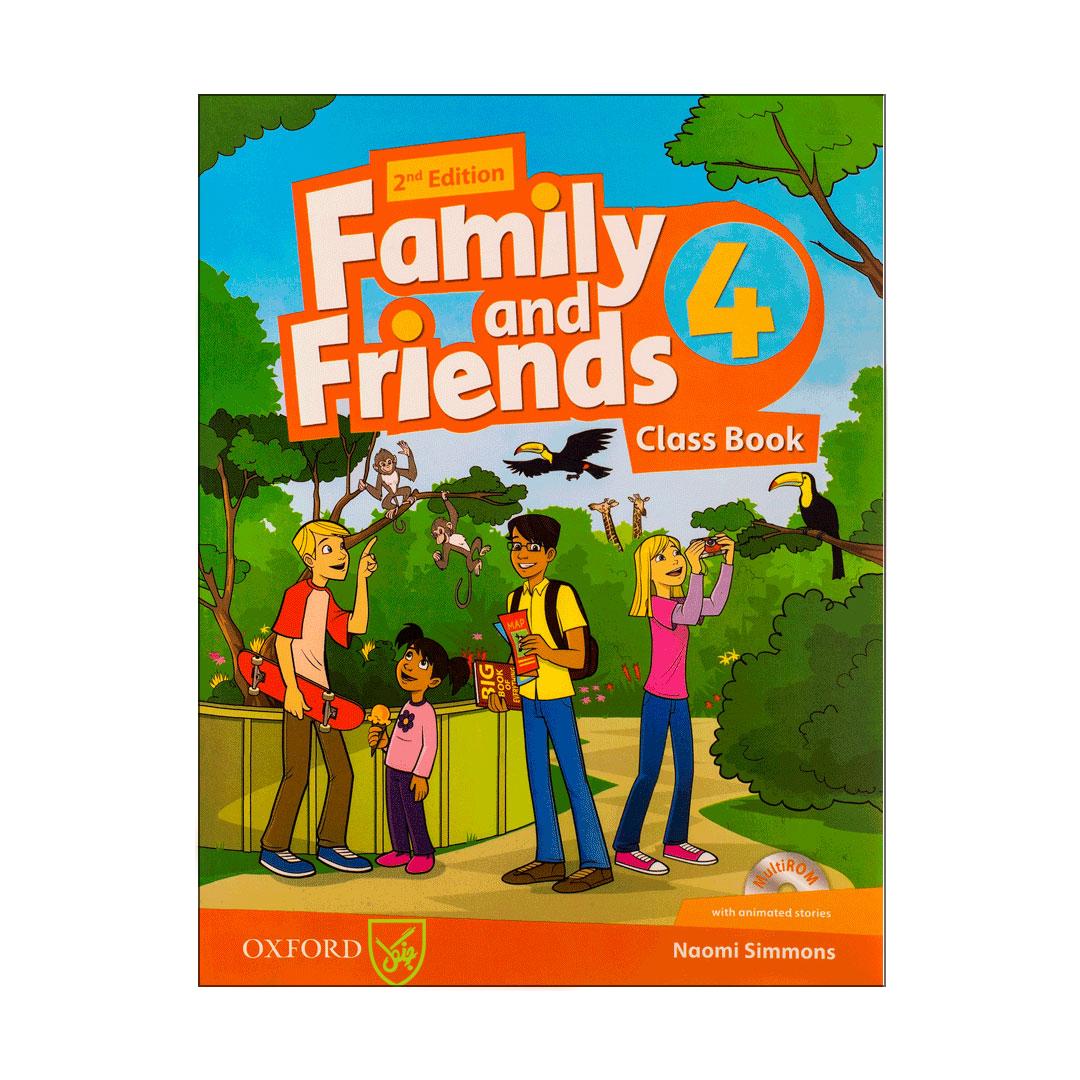 کتاب Family and Friends 4 اثر Naomi Simmons انتشارات جنگل