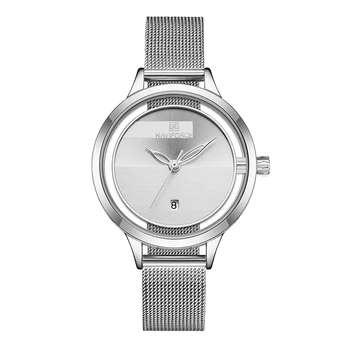 ساعت مچی عقربه ای زنانه نیوی فورس مدل NF5014L -S-W