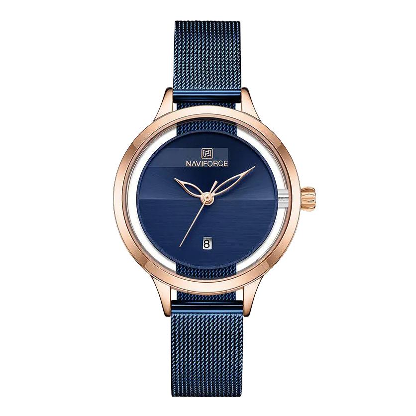 ساعت مچی عقربه ای زنانه نیوی فورس مدل NF5014L -RG-BE              خرید (⭐️⭐️⭐️)