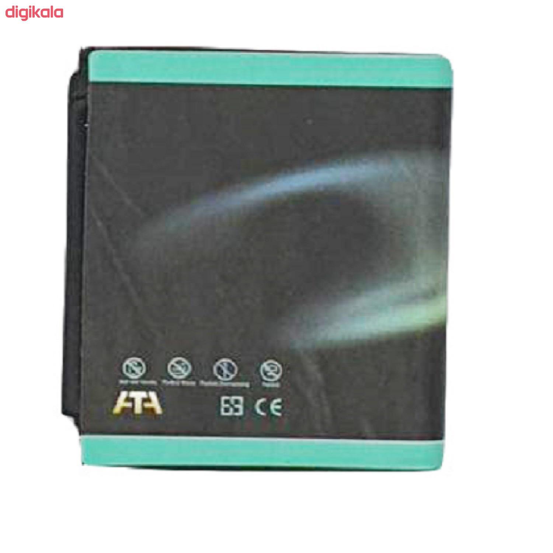 باتری موبایل مدل BQ ظرفیت 1000 میلی آمپر ساعت مناسب برای گوشی موبایل سامسونگ G808 main 1 1