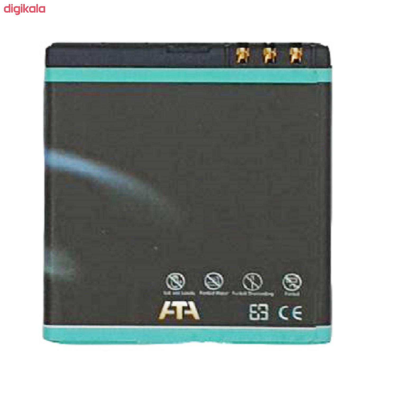 باتری موبایل مدل BL-6F ظرفیت 1100 میلی آمپر ساعت مناسب برای گوشی موبایل نوکیا N78 main 1 1