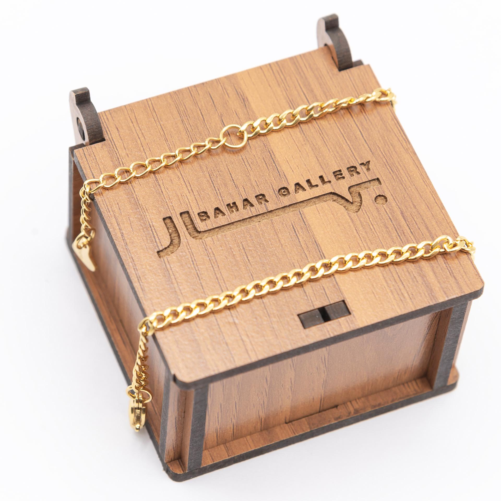 خرید                                      پابند زنانه بهارگالری مدل سانلی کد 210034