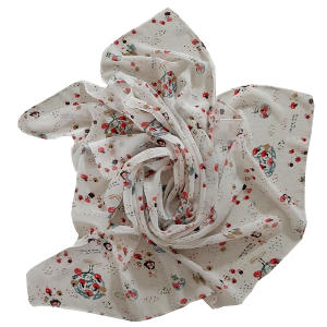 روسری دخترانه مدل تتیس کد 3060