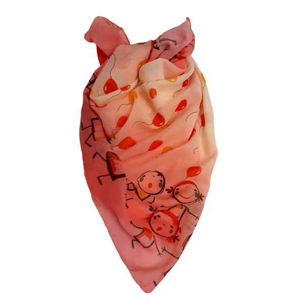 روسری دخترانه مدل تتیس کد 20083