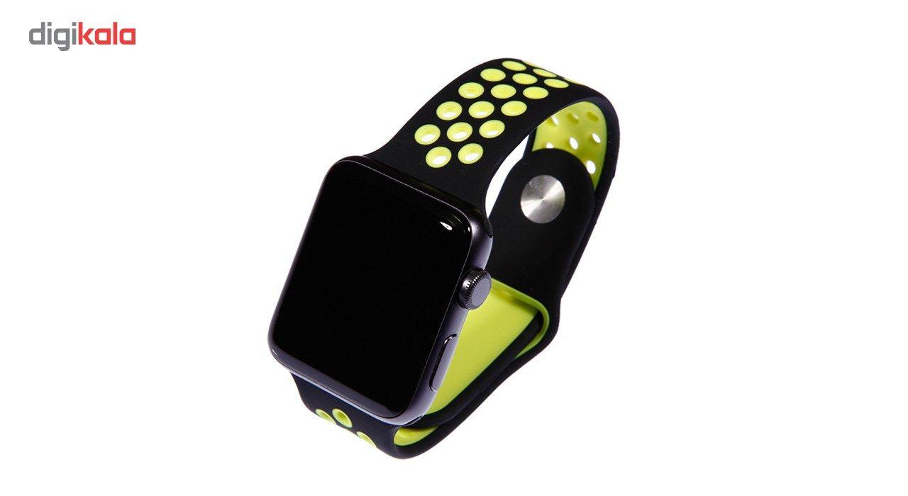 بند سیلیکونی طرح Nike مناسب برای اپل واچ 42 میلی متری main 1 2