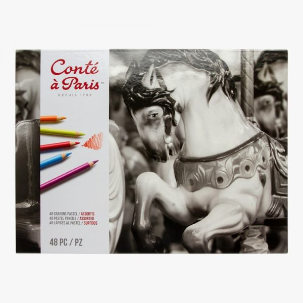 مداد کنته 48 رنگ کنته پاریس مدل اسب کد 2184
