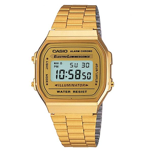 ساعت مچی دیجیتال کاسیو کد A168WG-9W