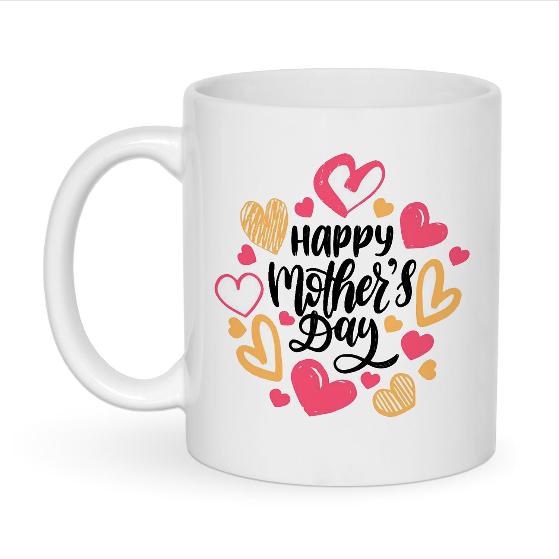 ماگ زیگ زاگ طرح روز مادر مبارک کد 1159