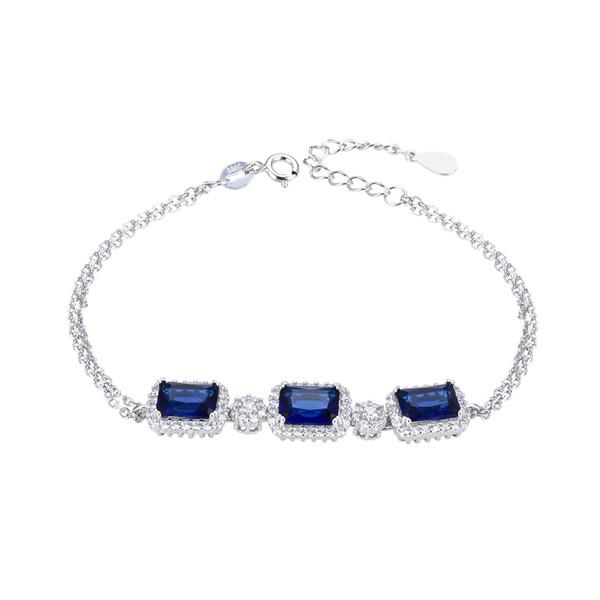 دستبند نقره زنانه شهر جواهر کد SJ-GB010