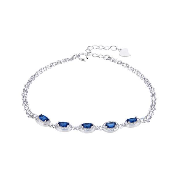 دستبند نقره زنانه شهر جواهر کد SJ-GB011