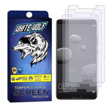 محافظ صفحه نمایش وایت ولف مدل WGS مناسب برای گوشی موبایل هوآوی Mate 10 بسته 3 عددی