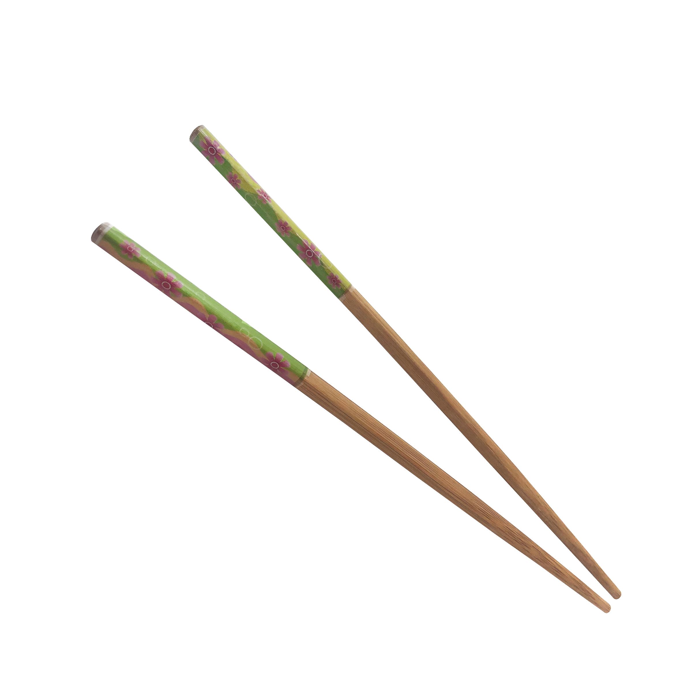 عکس چوب غذاخوری طرح گل بسته 2 عددی
