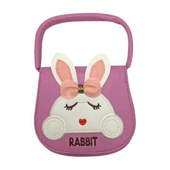 کیف دستی دخترانه طرحRABBIT کد 0021