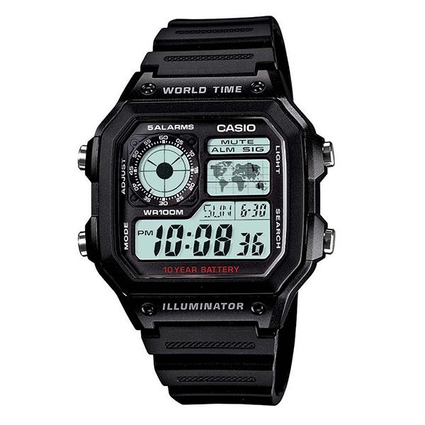 ساعت مچی دیجیتال مردانه کاسیو کد AE-1200WH-1A             قیمت
