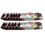 کیک اسفنجی با مغزی کرم کاکائو و روکش کاکائویی آیدین - 30 گرم بسته 12 عددی  thumb