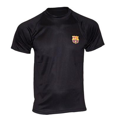 تصویر تیشرت ورزشی پسرانه طرح بارسلونا کد A04