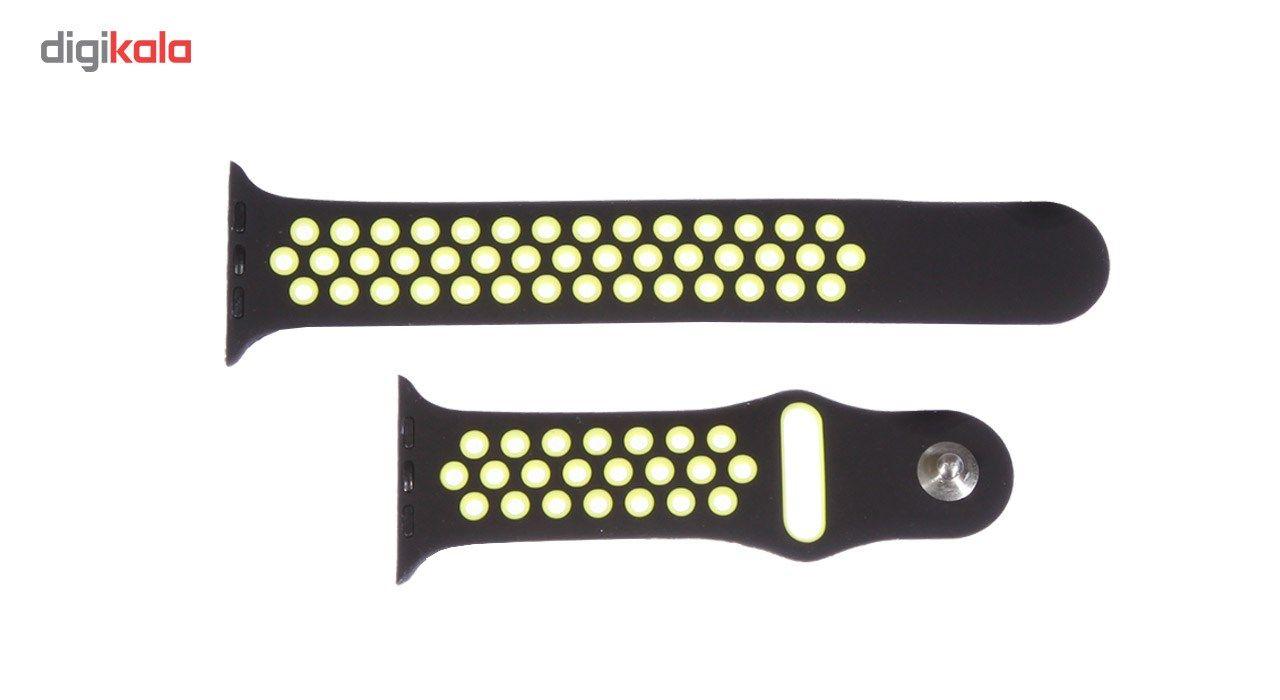 بند سیلیکونی طرح Nike مناسب برای اپل واچ 42 میلی متری main 1 4
