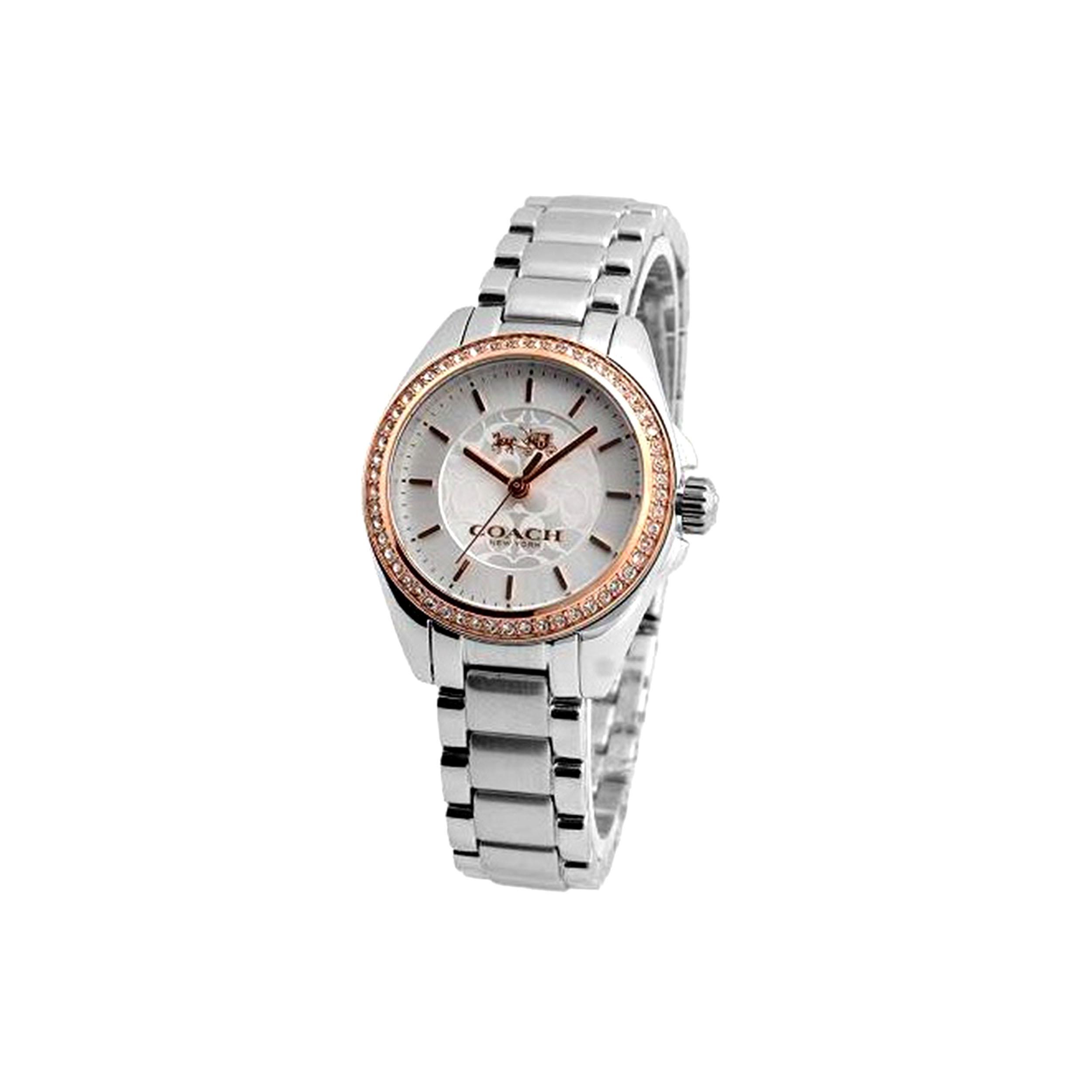 ساعت مچی عقربه ای زنانه کوچ مدل 14502467              ارزان