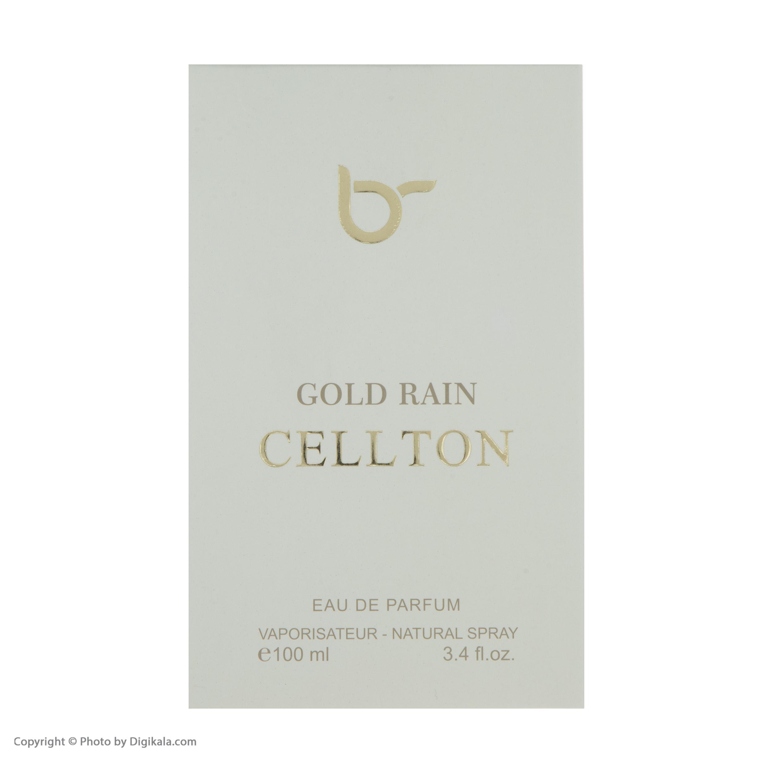خرید اینترنتی ادو پرفیوم زنانه سلتون مدل Gold Rain حجم 100 میلی لیتر اورجینال