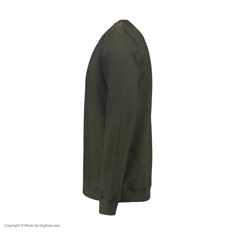 سویشرت مردانه وستیتی کد S5 رنگ سبز ارتشی