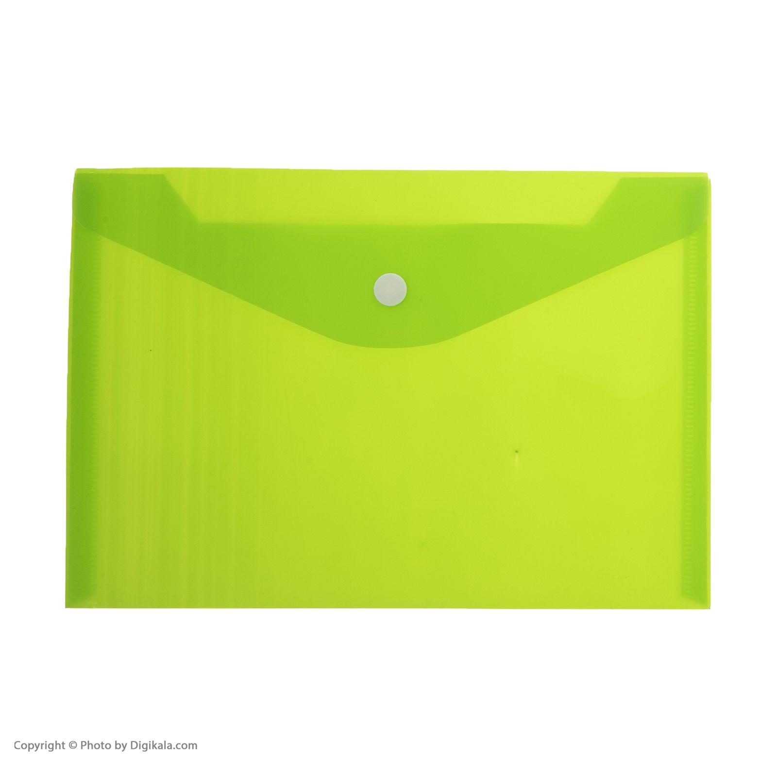 پوشه دکمه دار فوسکا سایز A5 بسته 10 عددی main 1 8