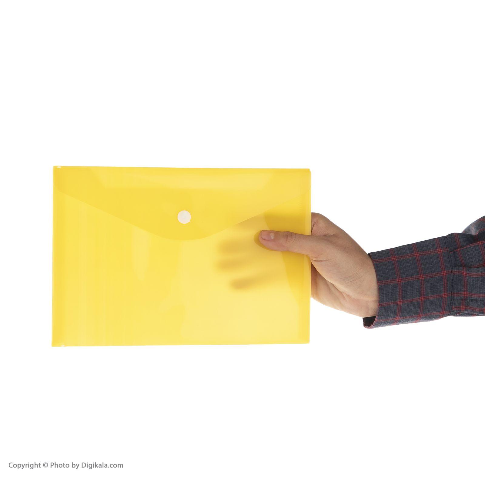 پوشه دکمه دار فوسکا سایز A5 بسته 10 عددی main 1 13