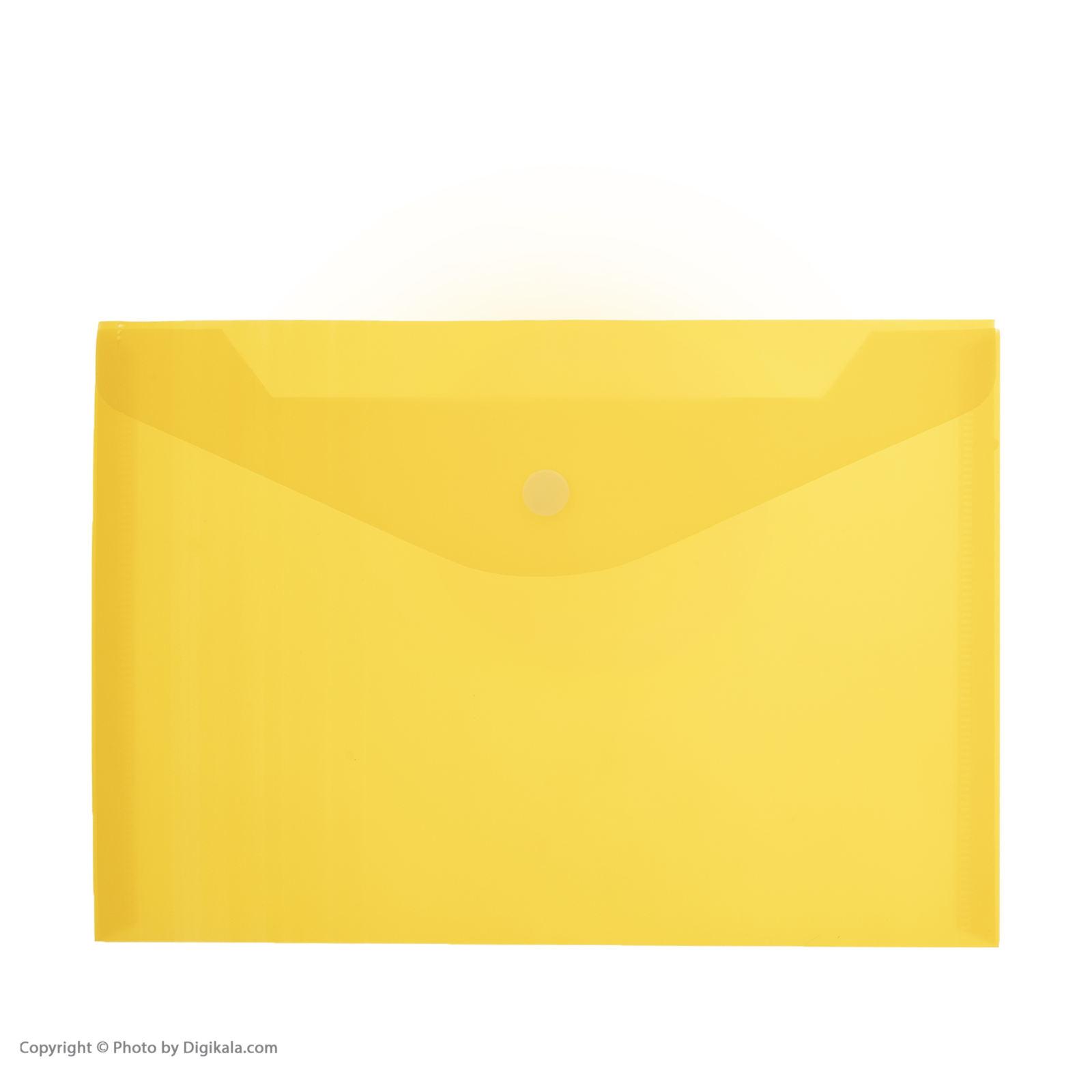 پوشه دکمه دار فوسکا سایز A5 بسته 10 عددی main 1 4
