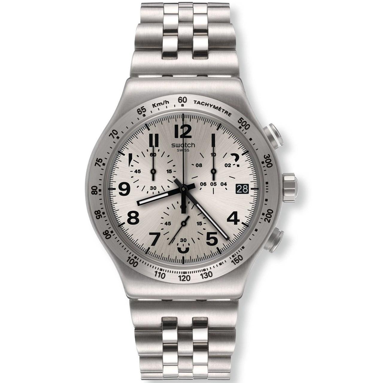 ساعت مچی عقربه ای مردانه سواچ مدل YVS425G